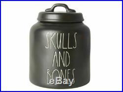 Rae Dunn Skulls and Bones Canister CONFIRMED ORDER