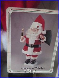 Rare Vintage Telco Motion-ettes Of Christmas Animated Illuminated Santa Claus26