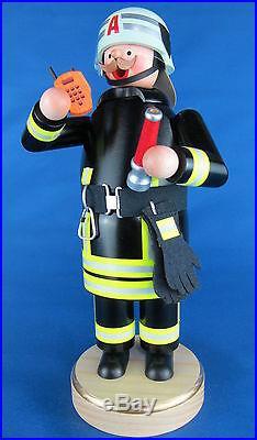 Räuchermann Feuerwehrmann in Einsatzbekleidung Feuerwehr +24 Räucherkerzen