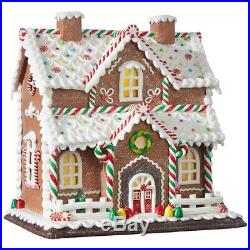Raz Imports Kringle Candy Co. 12.25 Gingerbread Lighted House