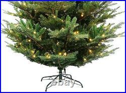 Realistic Rocky Mountain Fir Artificial Christmas Tree Pre-lit 5′ 6′ 7′ 8′ 9