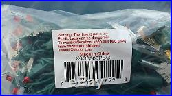Red LED Christmas lights 50 Light Set Case of 24 strand 5MM Wide Angle Concave