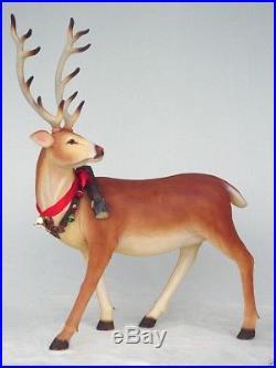 Reindeer Long Horn Christmas Decor Christmas Decor Reindeer Reindeer Statue