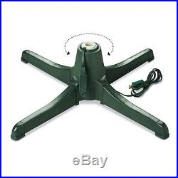 Rotating Artificial Christmas Tree Stand Holiday Indoor Christmas Decoration New