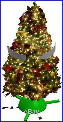 Rotating Christmas Tree Stand for live tree