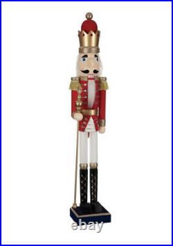 Royal Nutcracker Soldier Extra Large Christmas 4ft Tall 122cm Brand New