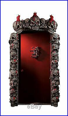 Rubie's Crypt Tower Skull Door Frame Set with Flickering Lights