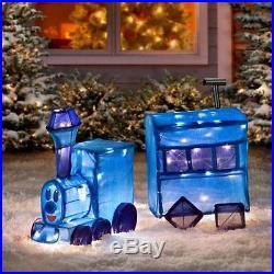 Rudolph Misfit Toys Boat + Train Outdoor Yard Xmas Decor + Santa Inflatable Lot