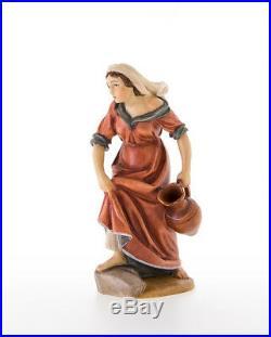 Rupert Krippenfigur Frau mit Kind von Lepi 12 cm aus dem Gröndnertal