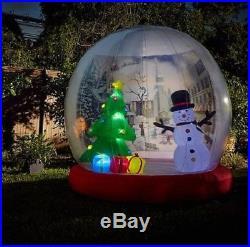 SALE! HUGE! Winter Lane 10′FT X 10 FT Inflatable Snow Globe CHRISTMAS DECOR