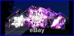 SEE VIDEO! ANIMATED OUTDOOR HD PROJECTOR KIT CHRISTMAS HOUSE Yard Decoration