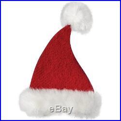 Sage & Co. Santa's Workshop Hanging Christmas Hat Ornament Set of 12