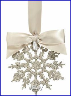 Saks Eliot Raffit Madison Avenue Snowflake Christmas Ornament