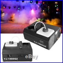 Samger 2pcs 1500W Up Shot Fog Machine Fogger DMX Upspray Smoke Vertical +Control