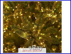 Santa's Best Starry Light 7.5 Tree Christm Green Multi-Function Microlight Multi