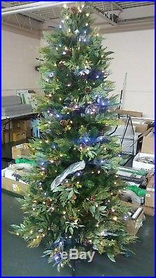 Santas best 7.5ft bay leaf christmas tree by ellen degeneres