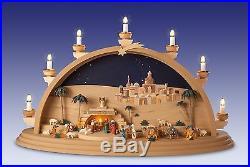 Schwibbogen Christi Geburt Größe 70 x 40 cm NEU Lichterbogen Erzgebirge