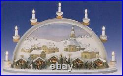 Schwibbogen Seiffener Weihnacht elektrisch BxHxT 70x40x17,5cm NEU Lichterbogen