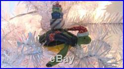 Sea Turtle Ceramic Christmas Tree Ornament Coastal Beach Holiday