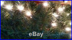 Sequoia Fir Prelit Commercial Holiday Wreath Clear Lights christmas Xmas 50 inch