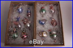 Set/12 NIB Pottery Barn 12 Days of Christmas Mercury ornaments