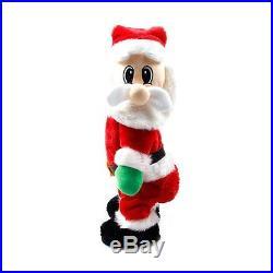 Singing Dancing Santa Christmas Toy Electric Twist Wiggle SantaClaus Xmas Decor
