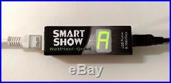 SmartShow NetPixel-Quad 16 Universe ArtNet Art-net WS2812 Pixel LED Driver