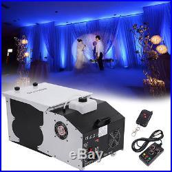 Smoke Fog Machine Low Lying Ground Emitter 1500W Wedding Party DJ Dance Stage