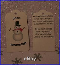 Snowman Soup x 100 WHOLESALE JOB LOT Christmas Fairs Boot Sale