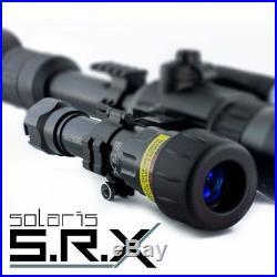 Solaris SRX IR Laser Illuminator 1 stage button + remote pressure switch