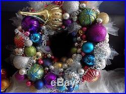 Sparkley Custom Christmas Wreath
