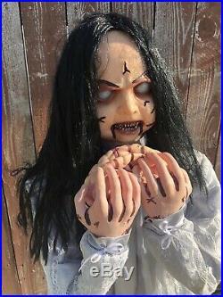 Spirit Halloween Rosemary Zombie Girl RARE