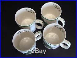 Spode Christmas Tree Coffee Mugs/Cups Set of 4