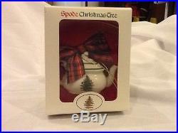 Spode Christmas Tree Porcelain Ornament Teapot