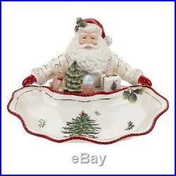 Spode Christmas Tree Santa Dish