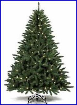 St. Nicholas Square 7ft Pre-Lit Green Fraiser Fir Artificial Christmas Tree