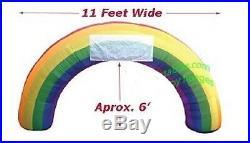 St Patricks Day 11 Ft Shamrock Rainbow Pride Lgbt Airblown Inflatable Yard Irish
