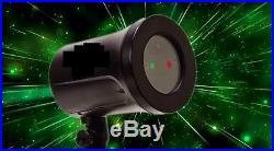 Star Laser Christmas Red/Green Light Shower Night Motion Dancing As Seen on TV
