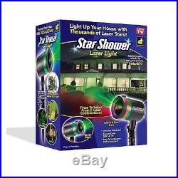 Star Shower Laser Light AS SEEN ON TV Christmas Decorations Indoor Outdoor Decor