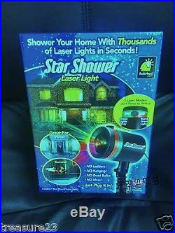 Star Shower Laser Light Christmas Decorations Indoor Outdoor Decor