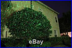 Star Shower Laser Light Show Night Projector Holiday Christmas Indoor Outdoor