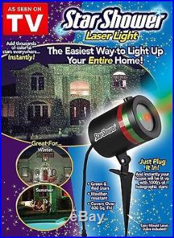 Star Shower Laser Light Show Night Projector Holiday