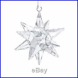 Star Swarovski Crystal Hanging Decor Christmas Tree Decoration Holiday Ornament