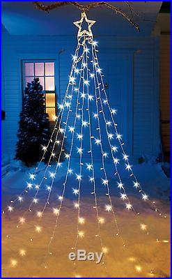 Star Tree Topper Led String Christmas Lights Indoor Outdoor Decoration 12 FT