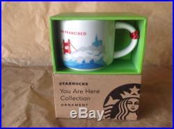Starbucks Coffee San Francisco You Are Here Holiday Ornament NIB
