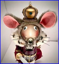 Steinbach Nutcracker Tchaikovsky's Mouse King 17 #7584 of 10,000 (Rare Find!)