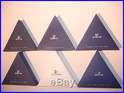 Swarovski Ornamente AUSWAHL 1996 1998 2001 2003 2006 2008 2009 2015