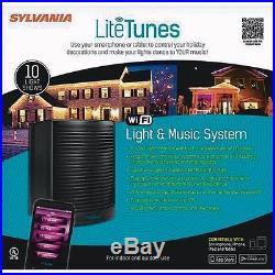 Sylvania Lifetunes WIFI Synch Music System V45000 Christmas Holidays BBQ Pool IT
