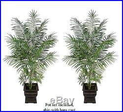 TWO 7′ Tropical Areca Palm Artificial Trees Plants 062