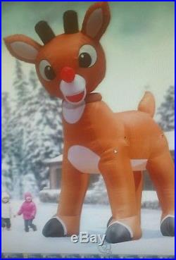 The 15 Foot Inflatable Rudolph Christmas Decoration